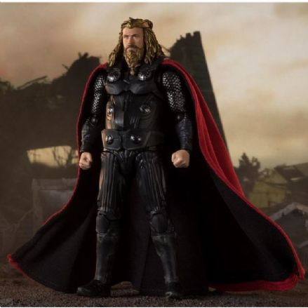 Bandai S.H. Figuarts Marvel Avengers Endgame Thor (Final Battle) Action Figure